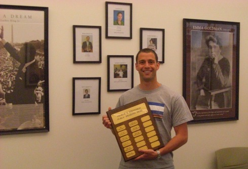 Prizewinner Matt Levitsky '13